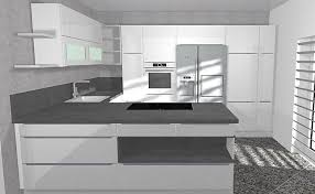 bildergebnis für küche mit side by side kühlschrank side