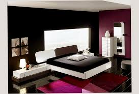 White And Black Color Design For Fun Young Adult Bedroom Ideas Elegant Style Photo