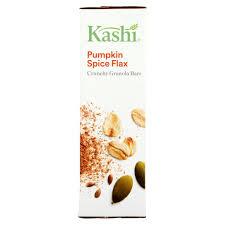 Pumpkin Flaxseed Granola Nutrition Info by Kashi Pumpkin Spice Flax Crunchy Granola Bars 1 4 Oz 6 Count