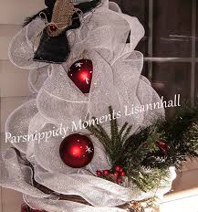Frosty The Snowman Christmas Tree Ornaments by Frosty Hanging Out At The Front Door Parsnippidy Moments