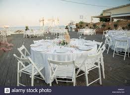 A Stunning Summer Wedding Reception Stock Photo: 177813859 ...