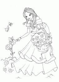 Kids Coloring Pages Princess Printables
