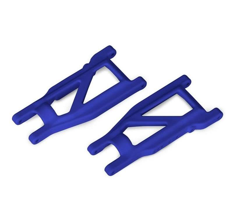 Traxxas 3655p - Front / Rear Suspension Arms, Blue, Rustler 4x4