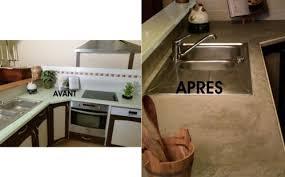 comment repeindre un plan de travail de cuisine eléonore déco l a fait le béton plan de travail de cuisine