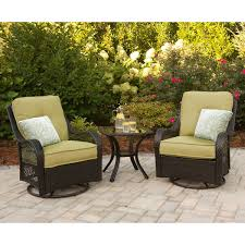 Hanover ORLEANS3PCSW Orleans 3-Piece Patio Set With 2 Swivel ... The Gripper 2piece Delightfill Rocking Chair Cushion Set Patio Festival Metal Outdoor With Beige Cushions 2pack Fniture Add Comfort And Style To Your Favorite Nuna Wood W Of 2 By Christopher Knight Home Details About Klear Vu Easy Care Piece Maracay Head Java Wicker Enstver Bistro 2piece Seating With Thickened Blue And Brown Amish Bentwood Rocking Chair Augustinathetfordco Splendid Comfortable Chairs Nursing Wooden Luxury Review Phi Villa 3piece