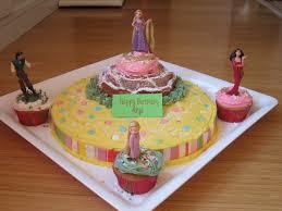 easy cake ideas for Tangled Rapunzel Cake