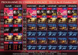 cinéma programme des salles tunisiennes du 25 septembre au 1er