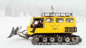 snow cat the for ditching your truck for a vintage snowcat outside