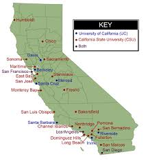 Resources California State Map Colleges And Universities Simply Simple Of