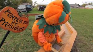 Pumpkin Farm Clarence Ny by Pumpkin Man For President The Great Pumpkin Farm Youtube
