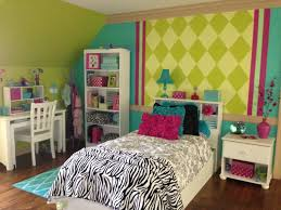 Zebra Design For Bedroom by 9 Year Old Wanted Aqua And Zebra Little Girls U0027 Bedroom Paint