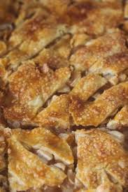 Rustic French Apple Tart Slab Pie
