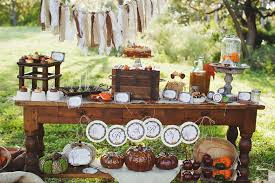 Gorgeous Thanksgiving Table Dessert Decoration Design Ideas Mesmerizing Rustic