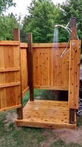 Outdoor Showers Are Our Specialty Cape Cod Shower Kit Enclosures Easy To Assemble And Made Last We Offer Custom
