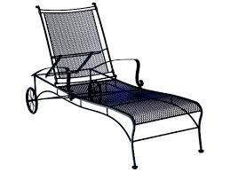 Woodard Bradford Mesh Wrought Iron Chaise | 7X0070 Fniture Incredible Wrought Iron Chaise Lounge With Simple The Herve Collection All Welded Cast Alinum Double Landgrave Classics Woodard Outdoor Patio Porch Settee Exterior Cozy Wooden And Metal Material For Lowes Provance Summer China Nassau 3pc Set With End Nice Home Briarwood 400070 Cevedra Sheldon Walnut Cane Rolling Chair C 1876