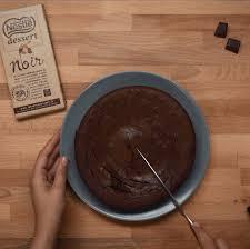 fondant au chocolat nestlé dessert noir au beurre salé