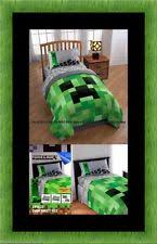 Minecraft Twin Bedding by Green Kids And Teens Comforters U0026 Sets Ebay