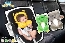 cale tete bebe pour siege auto le doudou cale tête malin pour les voyages de bébé