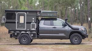 100 Custom Truck Camper Owner Tours Toyota Tundra To Show Off Van Life