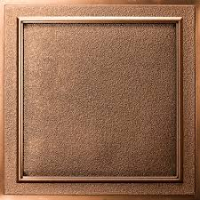 Staple Up Ceiling Tiles Home Depot by Terrace Ceiling Tile Antique Bronze Waterproof