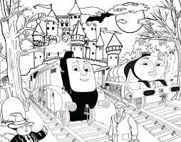 Thomas The Tank Engine Coloring Pages To Print Train Sheets Colouring Book