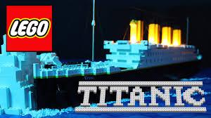 lego titanic youtube
