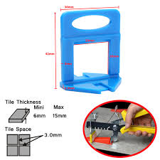 Floor Tile Spacers And Levelers by 100pcs Leveler Ceramic Clips Spacers Plastic Tile Wall Floor
