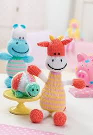 knitted baby toys free patterns crochet and knit