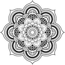 Free Download Coloring Mandala Designs Pages At 498 For Adults