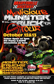 Malicious Monster Truck Tour Poster Oct 12 & 13 – Marysville Raceway Monster Trucks 2018 Coffs Harbour Function Centre Showgrounds Jam Truck Show Discount Tickets Coming To Tacoma Dome In Win Toronto I Dont Blog But If Did State Farm Stadium Thrdown Events Photos Videos 20 Things You Didnt Know About Monster Trucks As Comes Traxxas Monster Truck Crown Complex No Limits Featuring Bigfoot Salem Va 24153 Page 3 Jamst Louis Kids Out And About St Monstertruck Poster