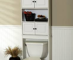Endearing Bathroom Over Toilet Cabinets Home Depot Design Wrought Iron Rustic Aldabella