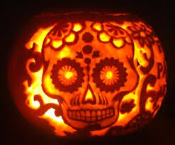 Walking Dead Pumpkin Designs by Pumpkins Carved With Drill The Husbands Will Love Pumpkin