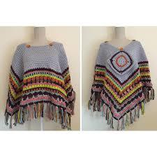 Free Pattern Crochet A Blanket Poncho Pattern Hobbycraft