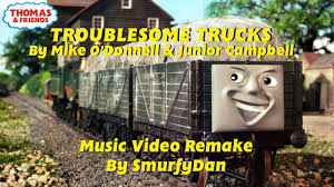 Thomas & Friends: Troublesome Trucks (2006 Remake) - YouTube Cfusion And Delay Thomas Troublesome Truck Trouble Ep 2 Download The Htite 2010 Bachmann 98002 G Scale Goods Wagon New Trafficclub Goes Fishing James The Trucks Friends Accidents Will Happen Song Youtube Product Categories Wagons Sawyer Models Faces Covered Wwwtopsimagescom Bachmann Percy Troublesome Trucks Large
