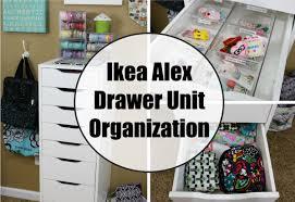 ikea alex drawer unit organization intro e