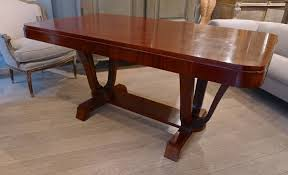 Rosewood Art Deco Dining Table France C1940