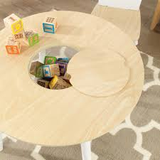 KidKraft Round Storage Table & Chair Set 27027 Kids Round Table Set Tyres2c Children39s White And Chairs Personalized Play Hayneedle Best Rated In Chair Sets Helpful Customer Reviews Springs Hottest Sales On Kidkraft Storage 2 Kidkraft Bench Fresh Star And Shop Avalon Ii Free Shipping Exciting Kitchen Card Gumtree Small Rattan Multiple Colors Pink Farmhouse Beautiful New Sturdy Table With Four Chairs Beyondborders 15 Benches For Child S Wooden