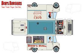 Bob's Food Truck Paper Craft | Bob's Burgers | Pinterest | Bobs ...