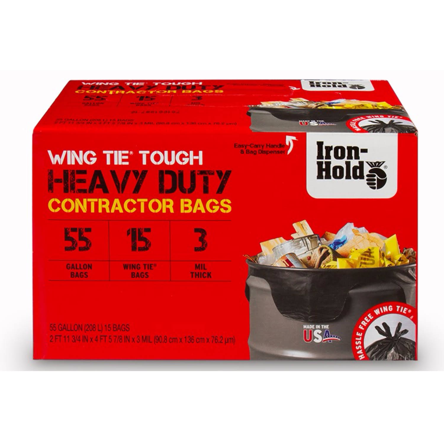 Iron Hold Contractor Trash Bag , HardwareOnlineStore