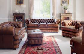 Image Of Rustic Brown Living Room Furniture