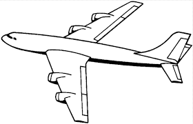 Airplane Coloring Pages Print