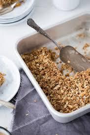 knusprig veganer apfel kokos kuchen liz friends