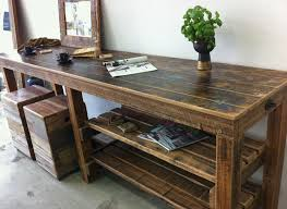 Recycled Timber Workbench Lane Melbourne