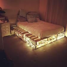 Pallet Bed Frame by Cheap Home Furnishing With Wooden Pallets Wooden Pallet Beds
