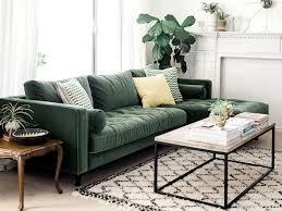 canap velours inspirations pour un canapé en velours salons living rooms and