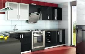 meuble de cuisine noir laqué cuisine noir laque cuisine noir laque et bois 45 dijon 27490135