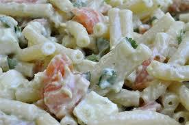 salade de pâtes froides au saumon fumé et guacamole le festin de