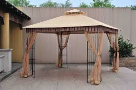 Gazebos - Umbrellas, Canopies & Shade : Patio Furniture : Amazon.com Backyard Gazebo Ideas From Lancaster County In Kinzers Pa A At The Kangs Youtube Gazebos Umbrellas Canopies Shade Patio Fniture Amazoncom For Garden Wooden Designs And Simple Design Small Pergola Replacement Cover With Alluring Exteriors Amazing Deck Lowes Romantic Creations Decor The Houses Unique And Pergola Steel Are Best