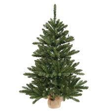 Silvertip Fir Christmas Tree by Artificial Christmas Trees Unlit Table Top Artificial Christmas
