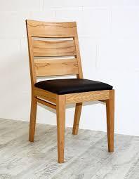 details zu holzstuhl polster stuhl kernbuche mit kunstlederbezug braun esszimmer stühle